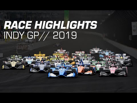 2019 NTT IndyCar Series: Indy GP Race Highlights