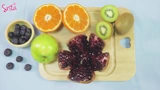 SistaCafe Channel : 4 สูตรน้ำหมักผลไม้