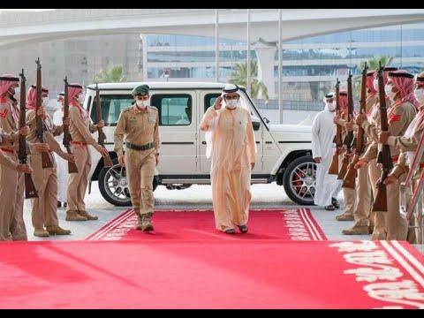 His Highness Sheikh Mohammed bin Rashid Al Maktoum - Mohammed bin Rashid visits Dubai Police headquarters