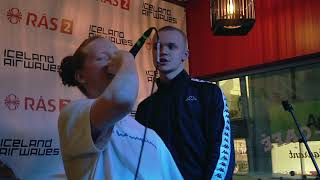 "Video thumbnail of ""JóiPé og Króli - Gerviglingur (Iceland Airwaves 2017: Rás 2 - Akureyri Backpackers)"""