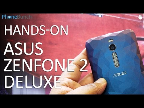 Asus Zenfone 2 Deluxe Hands-on Overview and First Impressions