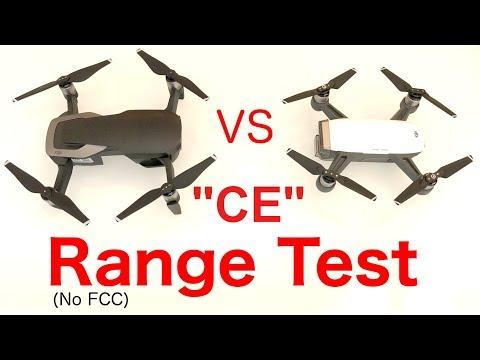 Mavic air range test - max range in europe ce