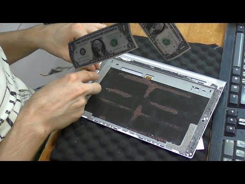 Разбит тачскрин. Планшет Lenovo Yoga Tablet 2 10.1(1050L). Замена модуля дисплея
