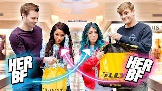 Boyfriend Swap Shopping Challenge