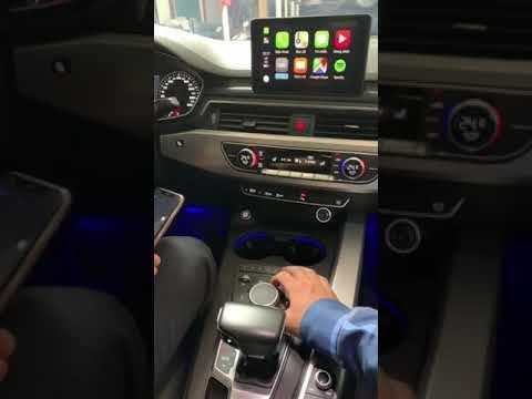 Carplay không dây cho Audi A4 2016