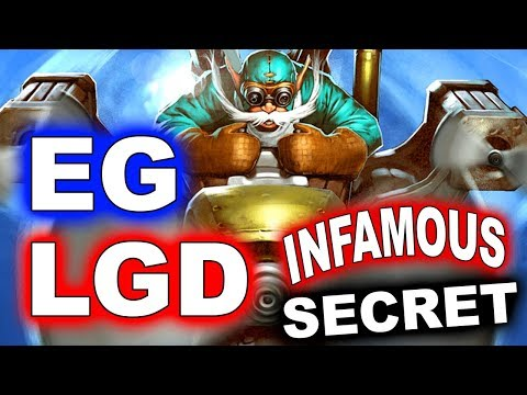 EG vs LGD + SECRET vs INFAMOUS - ESL KATOWICE MAJOR DOTA 2