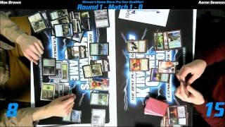preview picture of video 'MTG Magic PTQ Standard Catskill, NY Round 1 Game 2 122014'