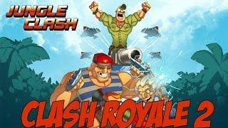¡EMPEZANDO EN JUNGLE CLASH TOCANDOME UNA LEGENDARIA! IGUAL que CLASH ROYALE - Jungle Clash Español