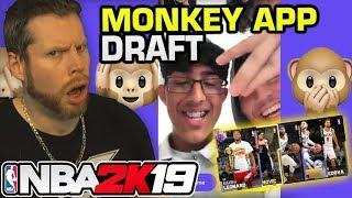 Can a Monkey Draft a NBA 2K19 team?