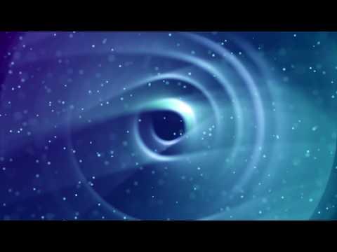Видеофон футаж видео заставка скачать бесплатно HD - Голубая бездна, воронка