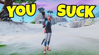 i mic dropped emoted on every kill in fortnite... (new toxic emote)