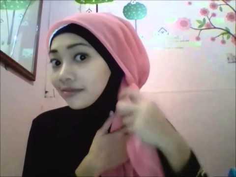 Video Contoh Cara Memakai Jilbab Segi Empat Untuk Kondangan