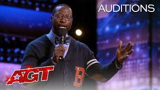 Mike Goodwin Tells Funny Stories About Teaching His Kids - America's Got Talent 2021 thumbnail