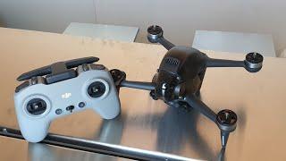DJIFPV primeiro vôo, teste de câmera em 4k