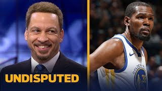 Chris Broussard likes Draymond's statement on KD potentially leaving the Warriors | NBA | UNDISPUTED