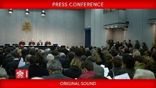 Press Conference for the Canonization of Paul VI and Óscar Arnulfo Romero 2018-10-11