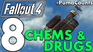 Top 8 Best Chems, Drugs and their Effects in Fallout 4 #PumaCounts