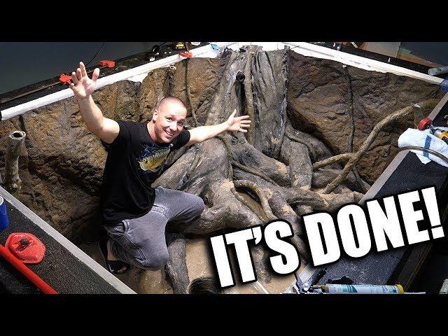 2,000G aquarium is DONE!!