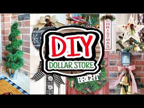 8 Quick Easy DIY Christmas Decorations | DIY Dollar Store Christmas Decor 2019