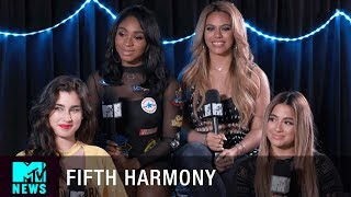 Fifth Harmony Talk 'Down' ft. Gucci Mane & Possibly Changing Their Name | MTV News