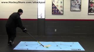 Body Movement Stickhandling - AttackPad