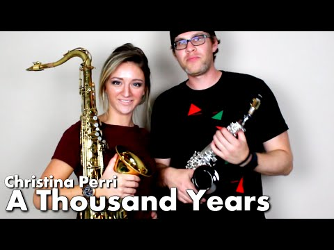 Christina Perri A THOUSAND YEARS Tenor Soprano Sax Cover BriansThing Mandy Faddis 🎷