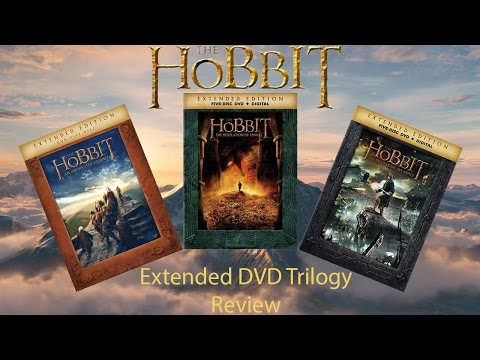 Hobbit Extended DVD Trilogy Unboxing and Review