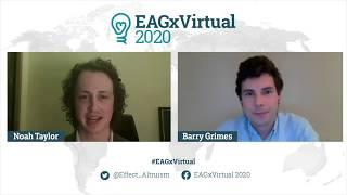 Presentation at EAGx 2020