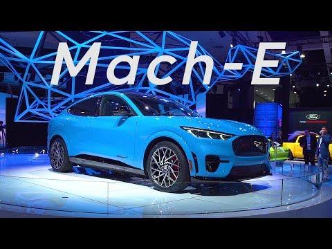 2019 LA Auto Show: 2020 Ford Mustang Mach-E   Consumer Reports