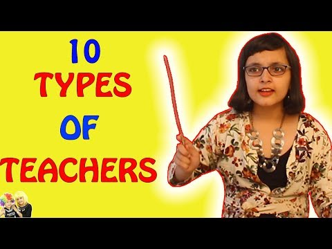TYPES OF TEACHERS || #Kids #Bloopers Kids Funny Videos