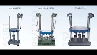 Lansmont Shock machine P122L OS. Long Shock.