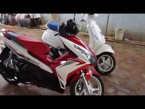 Vespa LX 2013 VS Honda Air Blade 2013 :)