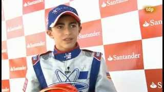 preview picture of video 'David Vidales en Teledeporte - Campeonato de España de Karting Recas 2014'