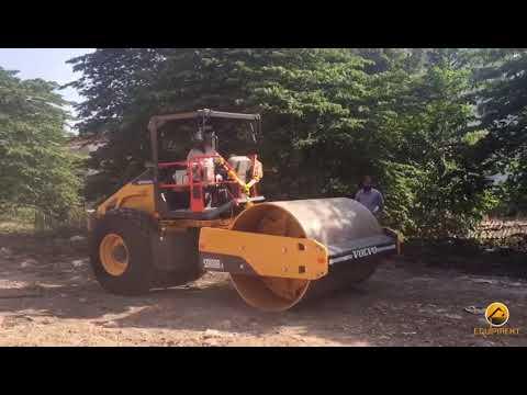 Volvo SD 110 Single Drum Soil Compactor