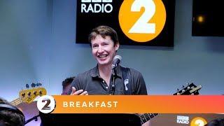James Blunt - Dancing in the Dark (Bruce Springsteen Cover) Radio 2 Breakfast