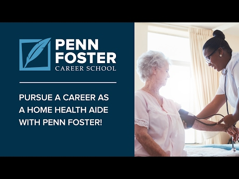 Online Home Health Aide Training   Penn Foster