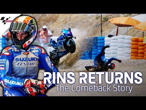 MotoGP SUZUKIのワークスチームから参戦中のアレックス・リンスの走りをまとめたダイジェスト動画