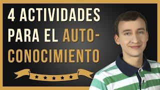 Video: 4 Fáciles Actividades Para Un Autoconocimiento Revelador