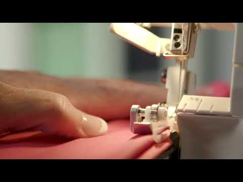 Serger Fundamentals: Blind Hem Foot