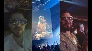 Adam Lambert • Lady Gaga 'ENIGMA' Residency Opening Night in Las Vegas, NV • December 28, 2018