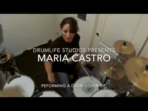 "Drum Cover by Maria Castro - ""Semi-Charmed Life"" by Third Eye Blind"
