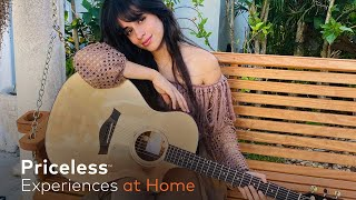 WATCH NOW — a #Priceless experience you can enjoy at home with Camila Cabello!