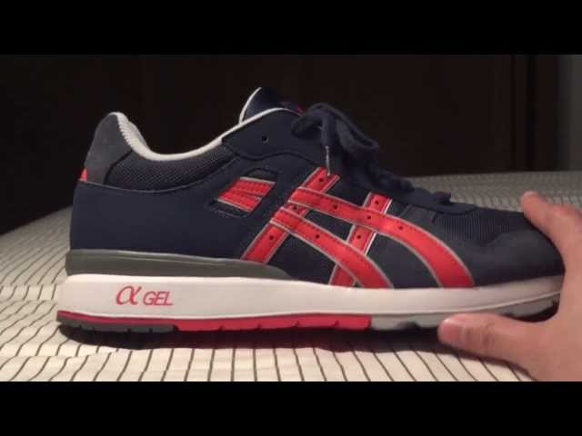 4 Leather Mens Navy Asics ii Trainers Gt fgb6Yy7