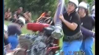 preview picture of video 'DHZ Dvorníky ženy 1 pokus - Vrbové 2009'