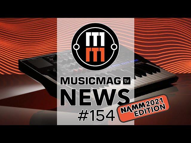News #154 (новинки NAMM 2021): KORG modWave, Roland MV-1, IK Multimedia UNO Synth PRO и др.