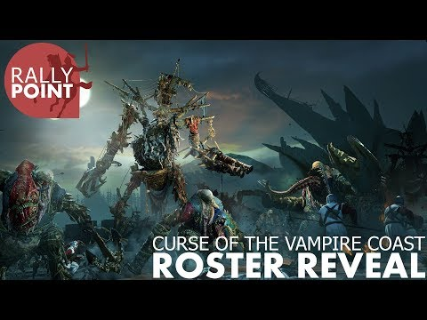 Curse of the Vampire Coast - Live Roster Reveal thumbnail