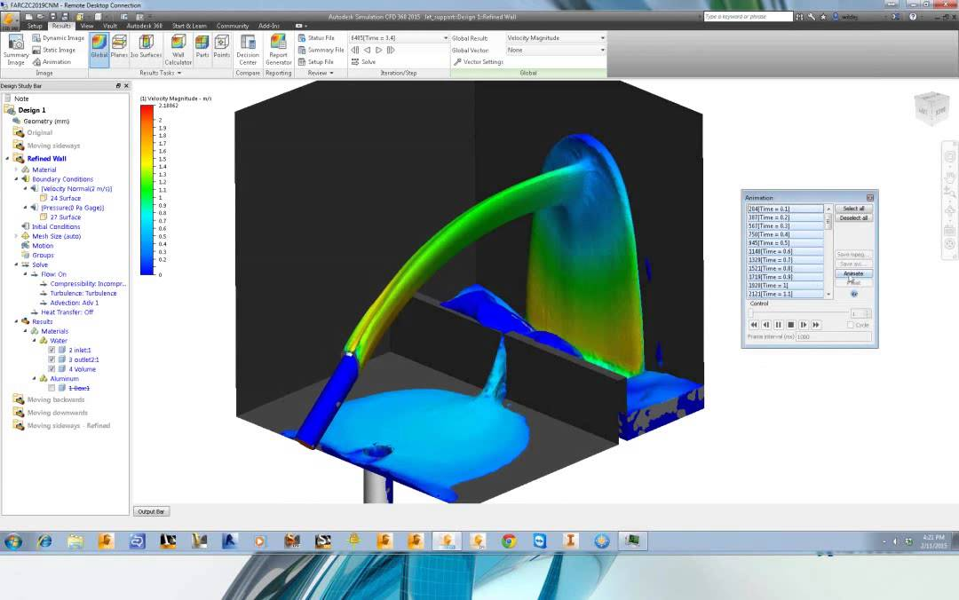 Autodesk simulation cfd youtube.