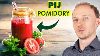 Napój likopenowy z pomidorów: co się stanie ze zdrowiem, gdy zaczniesz go pić | Dr Bartek Kulczyński