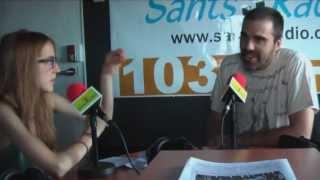 Entrevista en Sants 3 Radio