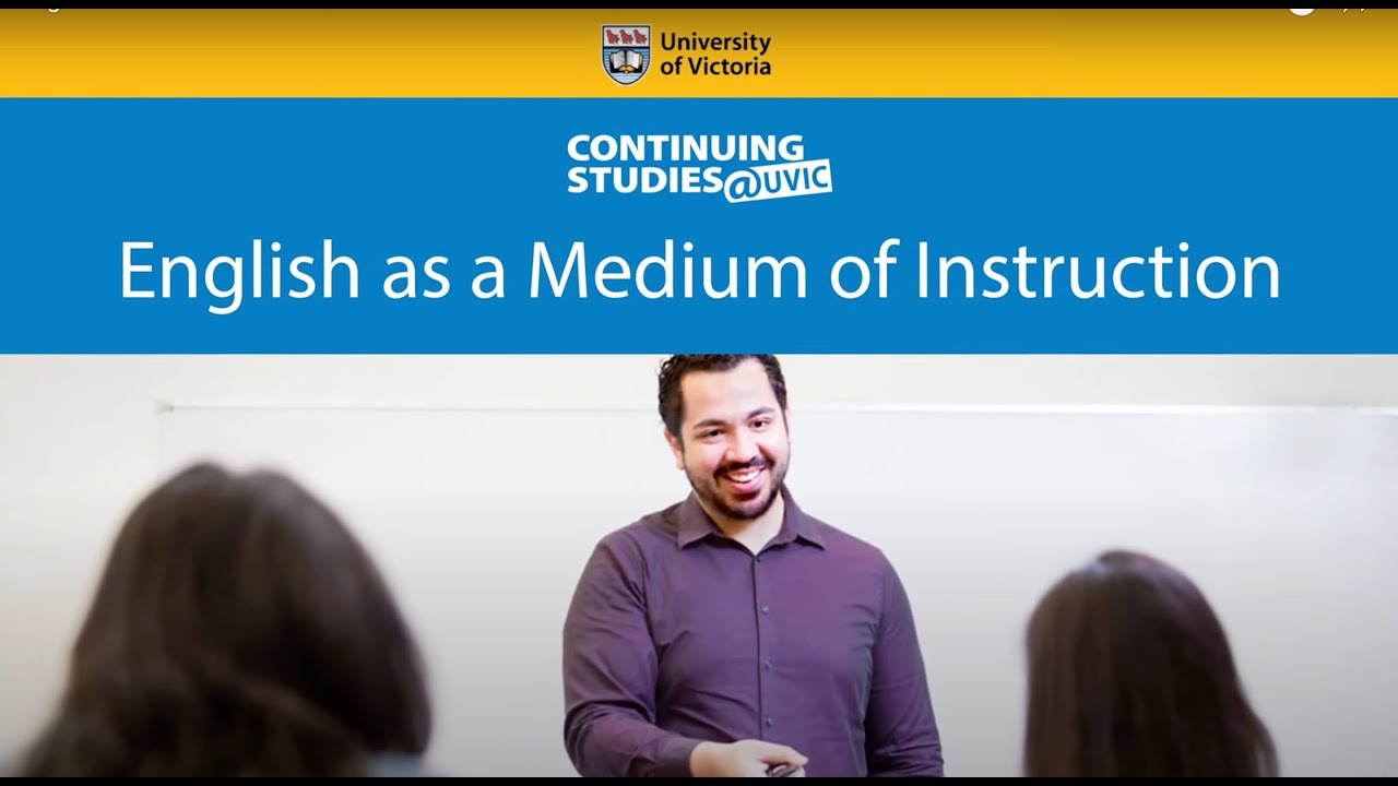 Video - WATCH VIDEO: English as a Medium of Instruction